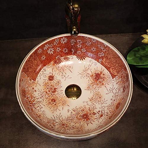 ZKS-KS 中国のクロークカウンター磁器の洗面台のバスルームシンクセラミックバスルームのシンクラウンド
