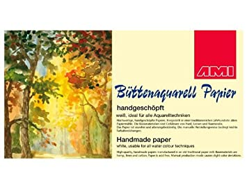 Butten Aquarellpapier A2 400g 3 Blatt Amazon De Kuche Haushalt