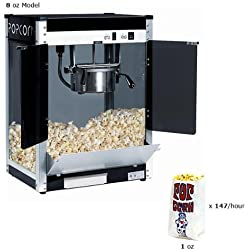 Paragon Contempo Pop 8 Ounce Popcorn Machine for Professional Concessionaires Requiring Commercial Quality High Output Popcorn Equipment