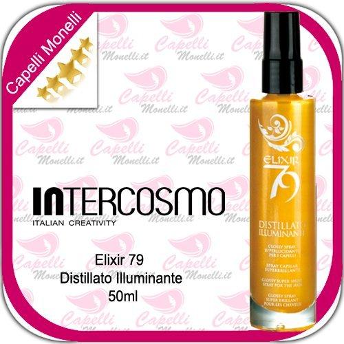 INTERCOSMO Elixir 79 Distillato Illuminante 50ml Spray Glitter profumato per capelli