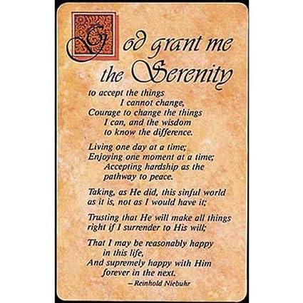 Serenity prayer full text
