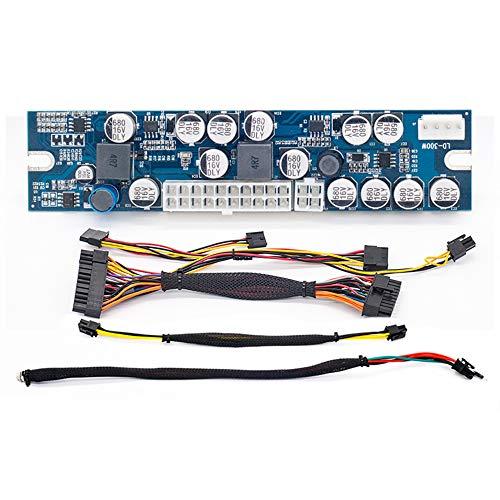 RGEEK 1106 DC to DC ATX PSU 12V 300W Pico ATX Switch PSU 24pin Mini ITX PC Power Supply for Computer (Dc Dc Atx Power Supply)