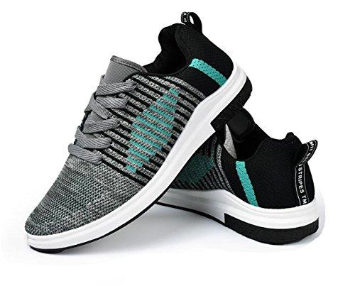 Cool grau Ein Freizetschuhe FY Casual Schuhe Segeltuch Herren Sneaker Mode Bißchen zz40qRnE