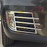 Autumn Water ABS Chrome Car Accessories 2PCS Fit