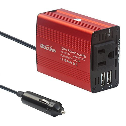 150W Inverter Charger Converter Adapter by Bapdas DC