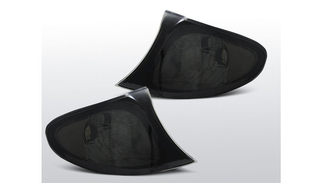 Facelift ab 09.01 Frontblinker Set Re.//Li schwarz E46 Lim.//Tour