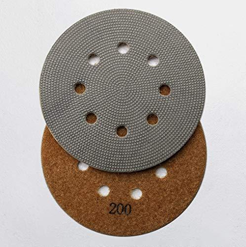(Diamond-Disc - Electroplated Diamond Sanding Pads for 5