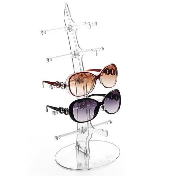 Sharplace 8 Slot Porte-Lunettes Lunettes de Soleil Souport Boîte avec Spectacle Lien Strap Loop Ends Cadeau dnM0Q6kaE