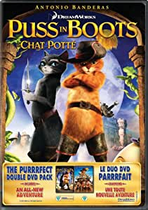 Puss in Boots: Double Pack (Puss in Boots / Puss in Boots: The Three Diablos) / Le chat potté duo (Le chat potté / Le chat potté: Les trois diablos) (Bilingual) (Sous-titres français)