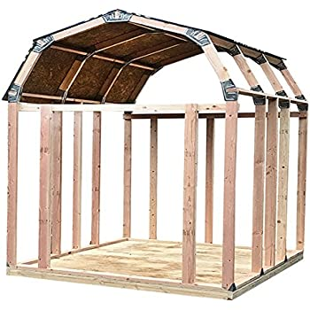 2x4basics Shed Kit With Peak Roof Amazon Ca Patio Lawn