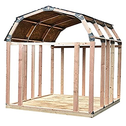 Amazon.com : EZ Shed 70188 Barn Style Instant Framing Kit : Garden ...