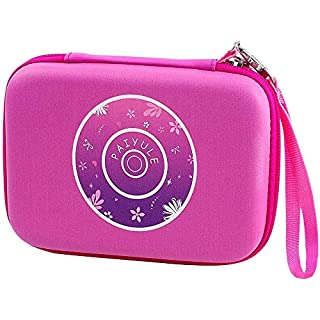 PAIYULE Case Compatible for VTech KidiZoom Camera Pix/Duo Selfie/Duo DX Digital Selfie/Duo 5.0 Deluxe Digital Selfie/Twist Connect/Spin and Smile Camera with Hand Strap - Pink (Bag only)