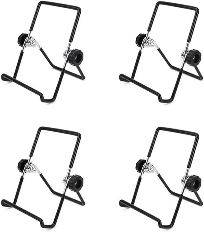 S Noir BESTONZON 4PCS Mason Jar Semences de Couvercle de Germination Support en Acier Inoxydable Jarre Support T/él/éphone iPad Tablet Stand