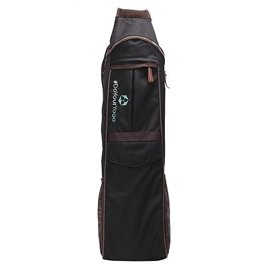 Completo Zip Ejercicio Yoga Mat Sling Bag Mochila ...