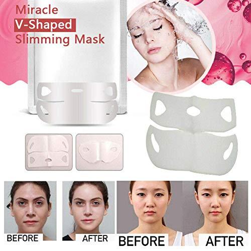 2019 V-Shape Face Chin Slimming Mask Miracle Slimmer Shaper (2Pcs)