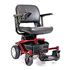 Golden Technologies – LiteRider Envy – Compact Power Chair – Blue