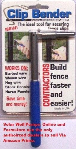 The Clip Bender, Ultimate Fencing Tool (T Post Clips) by The Clip Bender