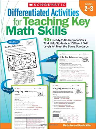 Amazon.com: Differentiated Activities for Teaching Key Math Skills ...