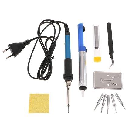 Homyl Kit de Soldadura Electrónica Temperatura Ajustable Equipo de Instalación Electrónico