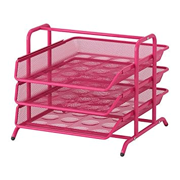 Ikea DOKUMENT - Bandeja Carta, Rosa