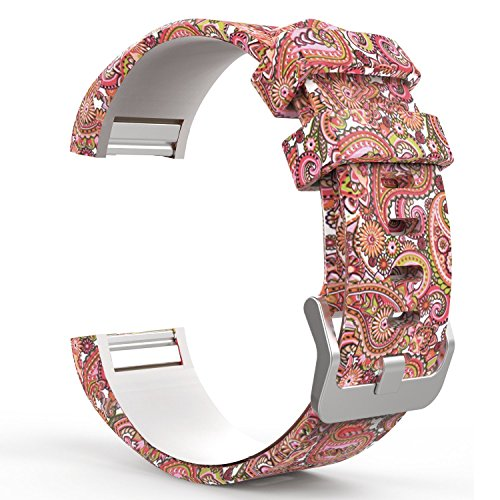DB for Fitbit Charge 2 Bands Rose Gold Buckle,Charge 2 Sport Replacement Bands Lavender, Fitbit Charge 2 Accessory Wristbands Large ()