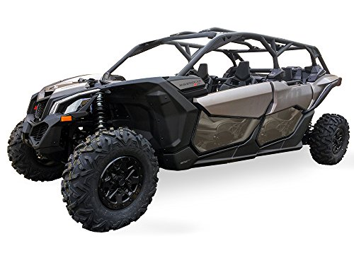 2017 Can Am Maverick X3 Max 4 seat models Lower Door Inserts by Spike-UTV (Max Seat)