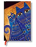 Laurel Burch: Mediterranean Cats Mini Sketch Book (Unlined) (PaperBlanks)