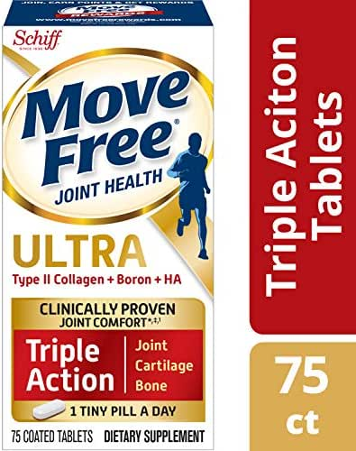 Schiff Move Free Ultra 75 Coated Tablets - pack of 2