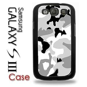 Samsung Galaxy S3 Plastic Case - Arctic Digi Camo camoufladge snow