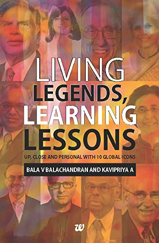 Living Legends, Learning Lessons
