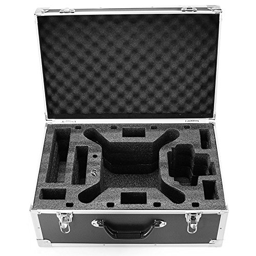 HUL Aluminum Carrying Case for DJI Phantom 3 Standard / SE / Professional / Advanced / 4K / Phantom 4 / Phantom 4 Pro Drones