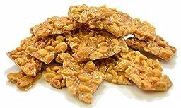 Oskri 24oz All-Natural Peanut Brittle - Gluten Free