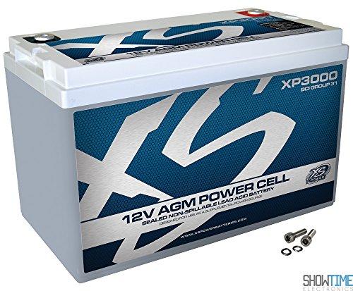 XS XP3000 Automotive Battery - 120000 mAh - Sealed Lead Acid