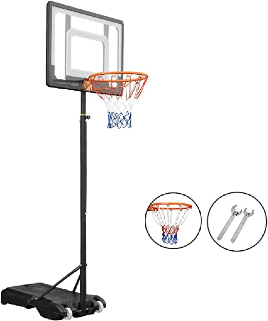 Canasta de baloncesto YXX Aro de Baloncesto for niños con Altura ...