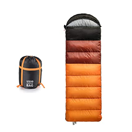 Saco De Dormir Forma De Sobre 3-4 Estaciones 210T 220*75cm Impermeable Ultraligero