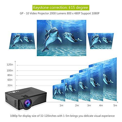 Joyhero GP-10 Mini LED Projector