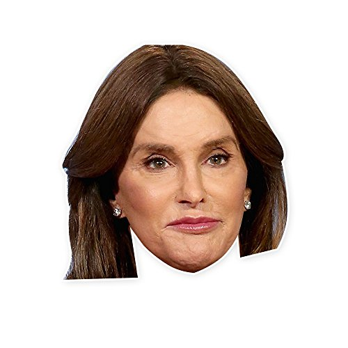 Caitlyn Jenner Mask - Perfect for Halloween, Masquerade, Parties, Events, Concerts - Jumbo Size - Costumes Kardashian