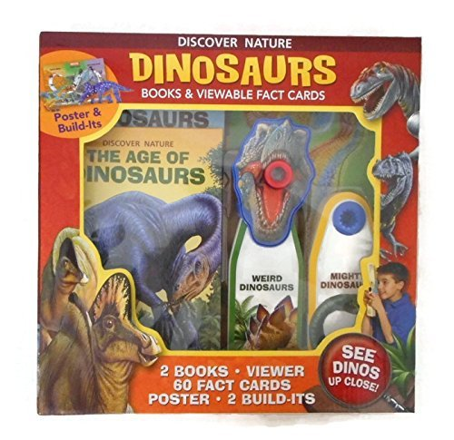 Discover Nature Dinosaurs Books & Viewable Fact Cards ebook