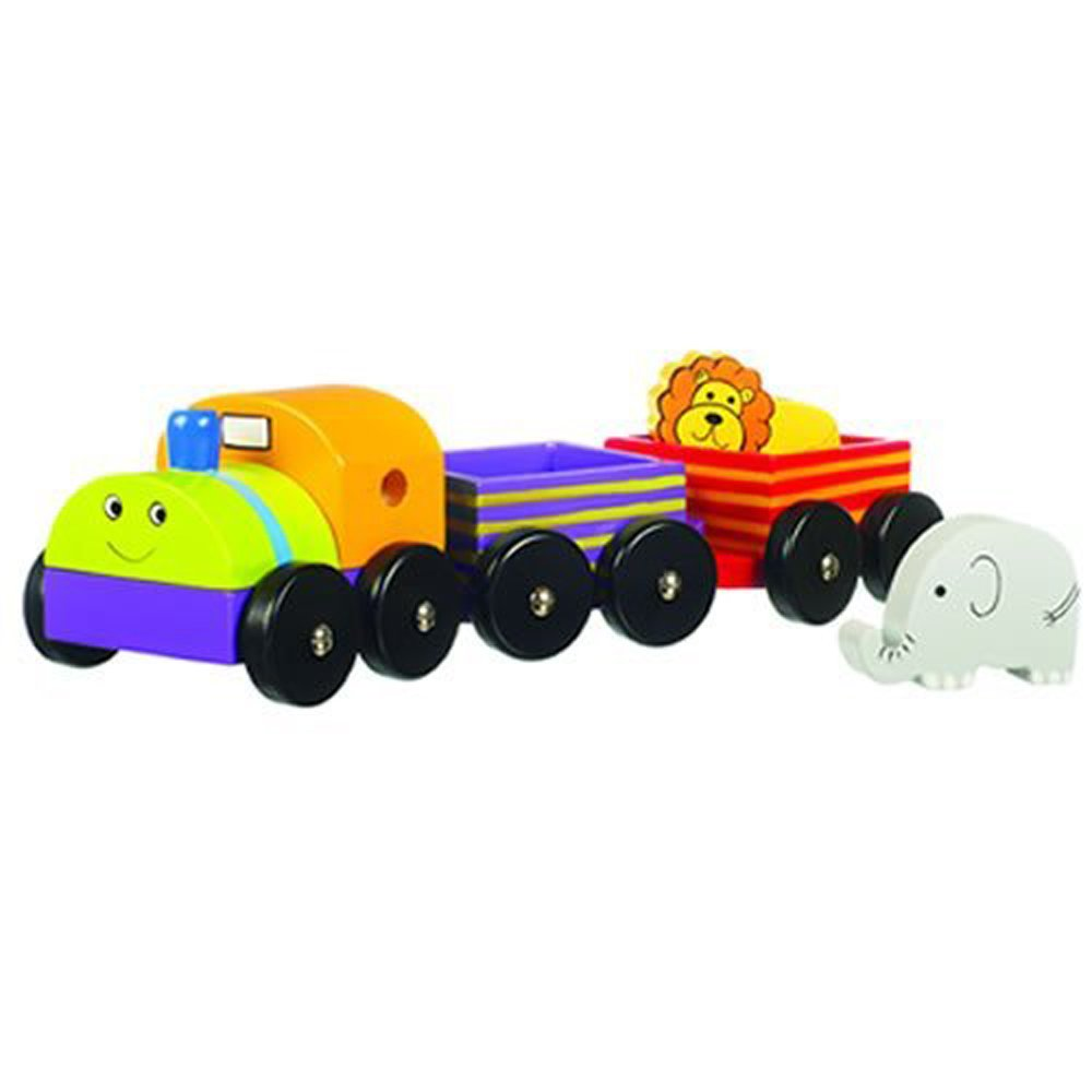 Orange Tree Toys First Animal Train