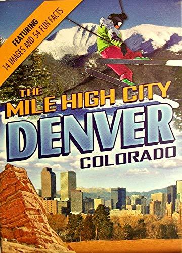Denver Colorado The Mile High City Souvenir Playing Cards