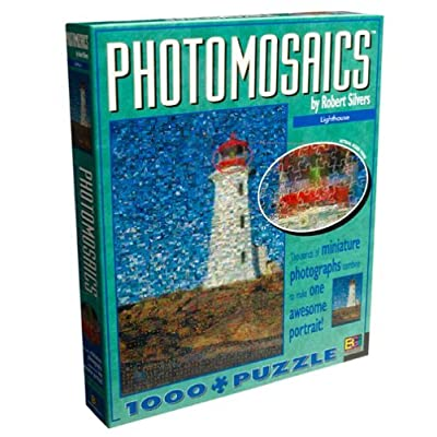 Photomosaic Lighthouse Jigsaw Puzzle 1026pc By Buffalo Games By Buffalo Games