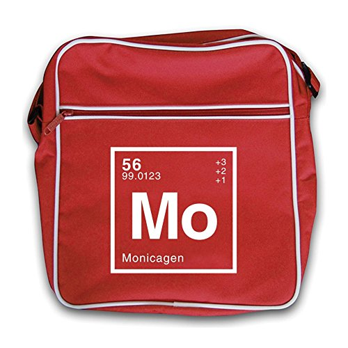 Periodic Element Flight Bag Monica Retro Dressdown Red 4qxR5wnE
