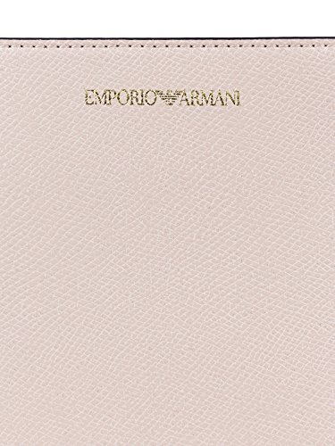 Noir Logo Femme Emporio Armani Grain Cipria Handbag qaX5Hw5