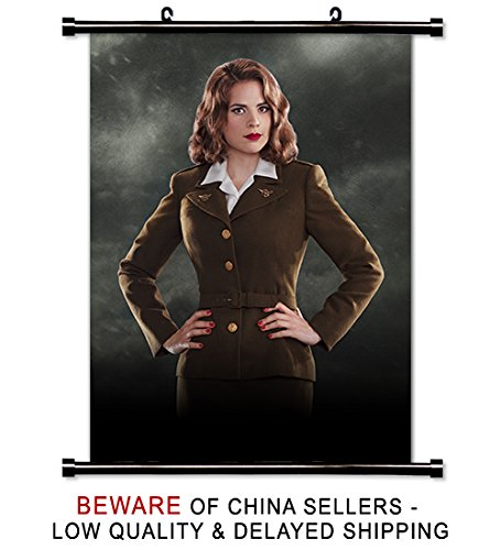 Marvel's Agent Carter TV Show Fabric Wall Scroll Poster (32x42) inches