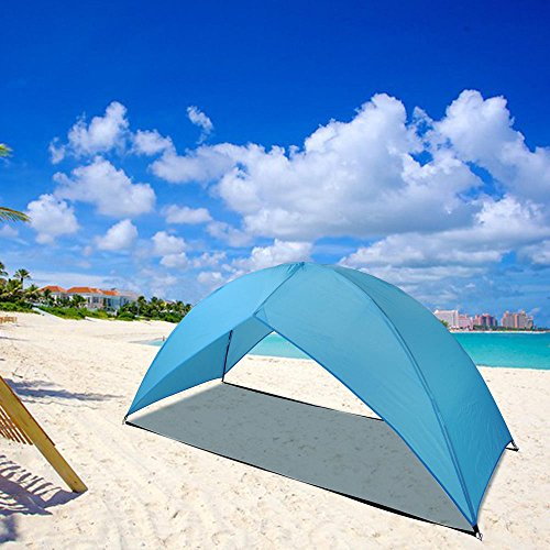 Price comparison product image PORTABLE BEACH TENT SUN SHADE SHELTER OUTDOOR FOR HIKING TRAVEL CAMPING NAPPING