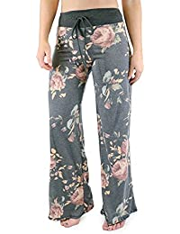 Marilyn & Main Women's Comfy Soft Stretch Floral Polka...