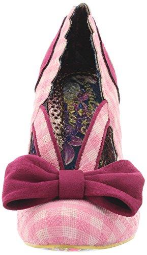 Irregular Choice Curtain Call - Tacones Mujer Rosa (Pink)