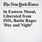 In Eastern Mosul, Liberated from ISIS, Battle Rages 'Day and Night' | David Zucchino