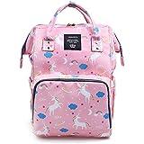 Vakker Wide Open Diaper Bag Backpack, Large Capacity...
