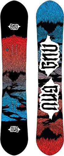 Gnu T2B Asym Snowboard Mens Sz 162cm